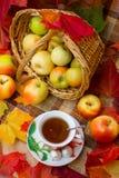 Autumn Tea Party Stockbild