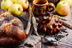 Autumn tea party Royalty Free Stock Images