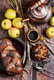 Autumn tea party Royalty Free Stock Photo