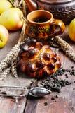 Autumn tea party Royalty Free Stock Image