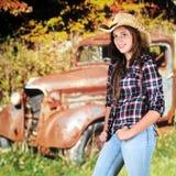 Autumn Teen fotos de stock royalty free