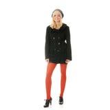Autumn teen woman Royalty Free Stock Photo