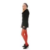 Autumn teen woman stock photography