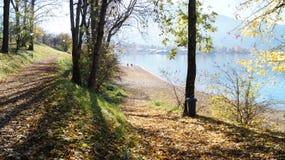 Autumn at Tegernsee Stock Image