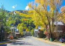 Autumn in Telluride Stock Photo