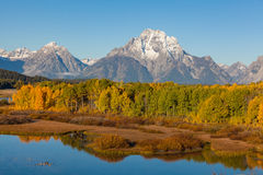 Autumn in the Tetons Royalty Free Stock Photography