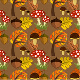 Autumn texture Stock Photography