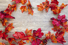 Autumn Thanksgiving Background Photographie stock