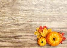 Autumn Thanksgiving Background Stock Photo