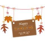 Autumn Thanksgiving Banner Foliage Line Fotografía de archivo libre de regalías