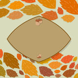 Autumn thanksgiving frame Stock Photos