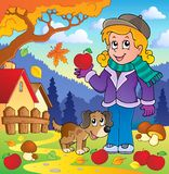 Autumn thematic image 1 Stock Image