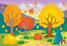 Autumn thematic image 5 Royalty Free Stock Photo