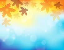 Autumn theme background 2 Stock Photography