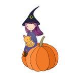 Autumn theme. Halloween. Stock Photos
