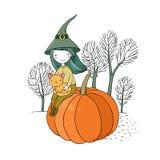 Autumn theme. Halloween. Stock Photography