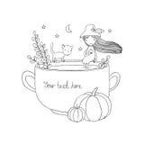 Autumn theme. Halloween. Royalty Free Stock Image