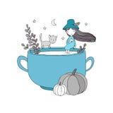 Autumn theme. Halloween. Royalty Free Stock Images