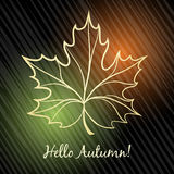 Autumn Theme Stock Photography