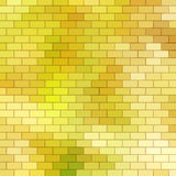 Autumn themed background with brick grid Royalty Free Stock Photo