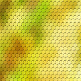 Autumn themed background with circular grid Royalty Free Stock Photo