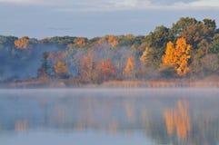 Autumn, Three Lakes Royalty Free Stock Images