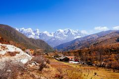 Free Autumn Tibetan Mountain Royalty Free Stock Photo - 88475775