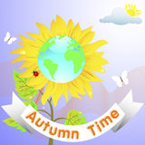 Autumn time. Royalty Free Stock Photo