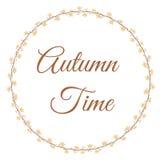 Autumn Time illustration de vecteur