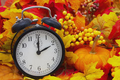 Autumn Time Change Royalty Free Stock Photography