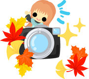 An autumn time Royalty Free Stock Image