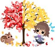 An autumn time Royalty Free Stock Photo