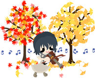 An autumn time Royalty Free Stock Images