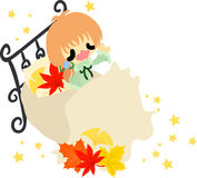 An autumn time Royalty Free Stock Photography