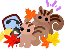An autumn time Stock Images