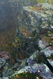 Autumn time. Ural mountains. Royalty Free Stock Photo