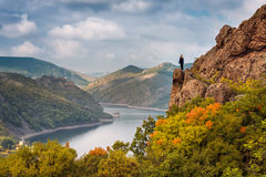 Autumn from the top Royalty Free Stock Photography