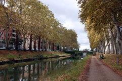 Autumn in Toulouse, France Royalty Free Stock Photos