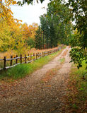 Autumn tranquility stock photos