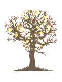 Autumn tree. Illustration for your design vector illustration
