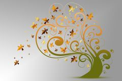 Autumn tree Royalty Free Stock Images