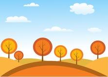 Autumn tree. Vector illustration art stock illustration