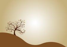 Autumn tree design. Beautiful abstract vector autumn tree design Royalty Free Stock Image