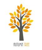 Autumn tree icon Royalty Free Stock Images