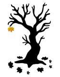Autumn Tree - Stock Illustration Royalty Free Stock Photos