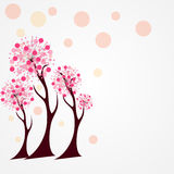 Autumn Tree Vector Illustration. Stock Photo