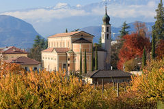 Autumn in Trentino Stock Photo