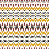 Autumn tribal ornament. Geometric tradition pattern . Vector Royalty Free Stock Photo