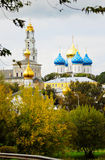 Autumn in Trinity Sergius Lavra. Stock Image
