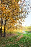 Autumn. Tsaritsyno Park in Moscow stock photo